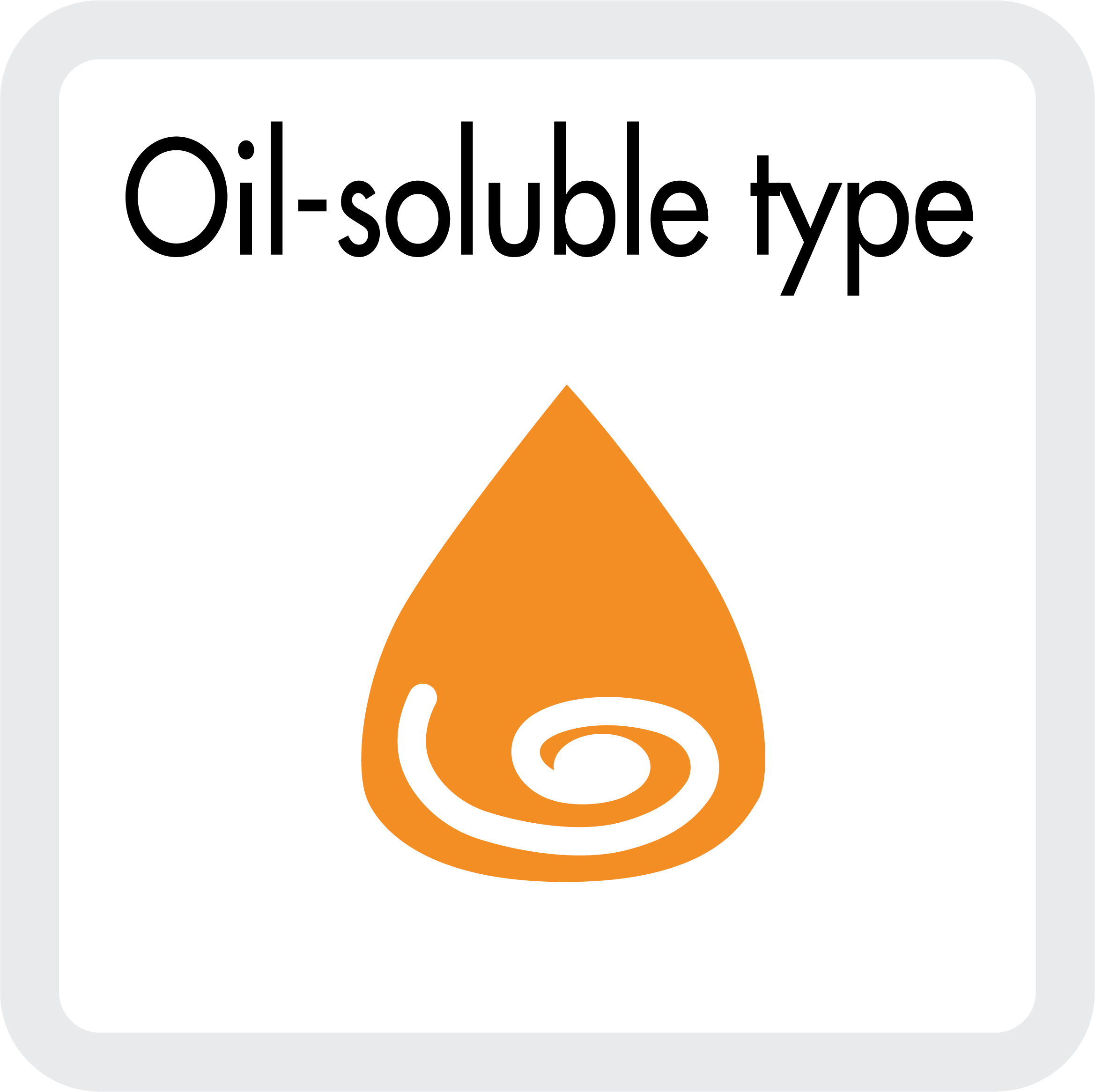 SC - Öl lösliche Inititatoren